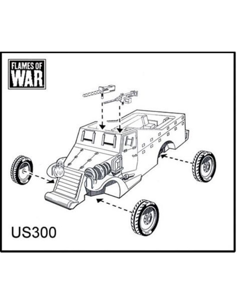 Flames of War US300 M3A1 Armored Car