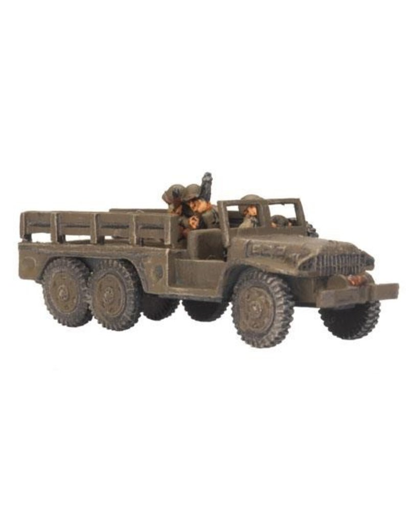 Flames of War US420 Dodge 1½-ton truck (x2)