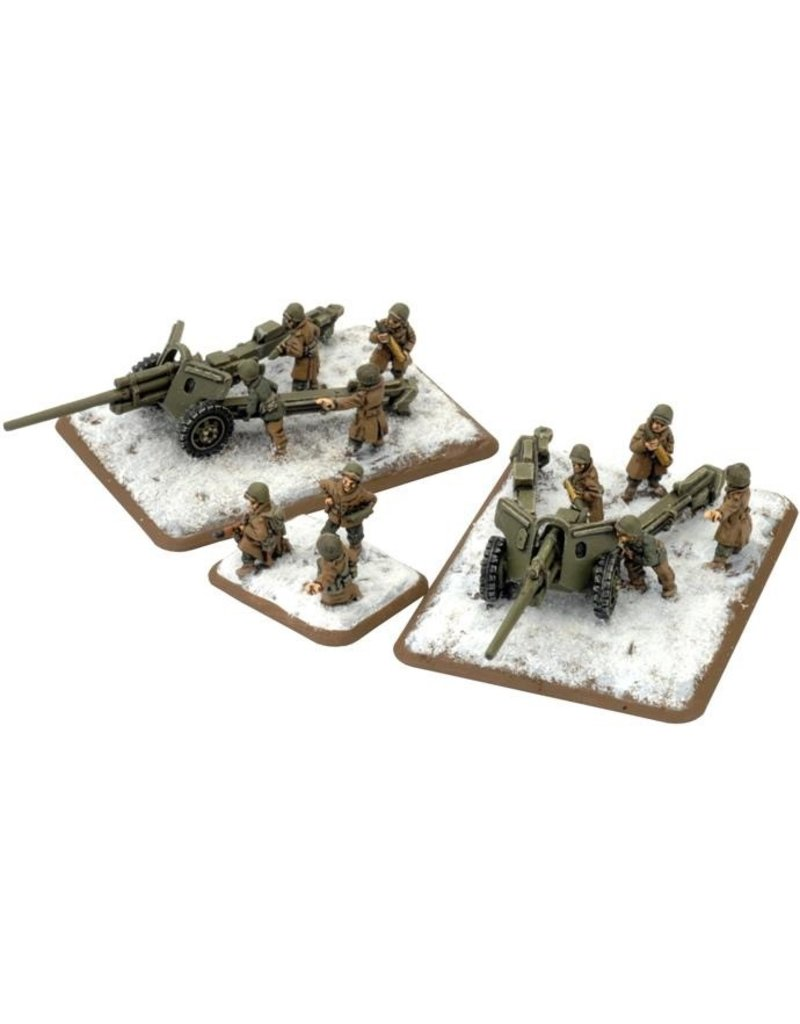 Flames of War US511 M5 3in gun (Winter)