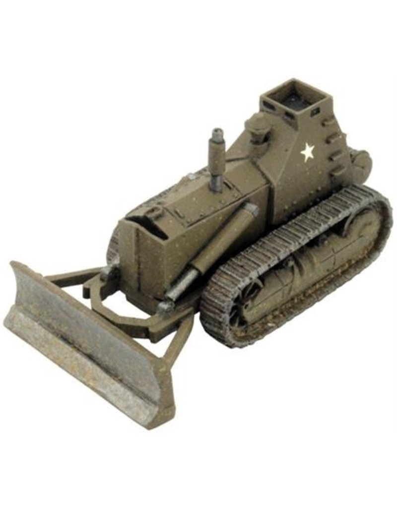 Flames of War US610 D7 Bulldozer