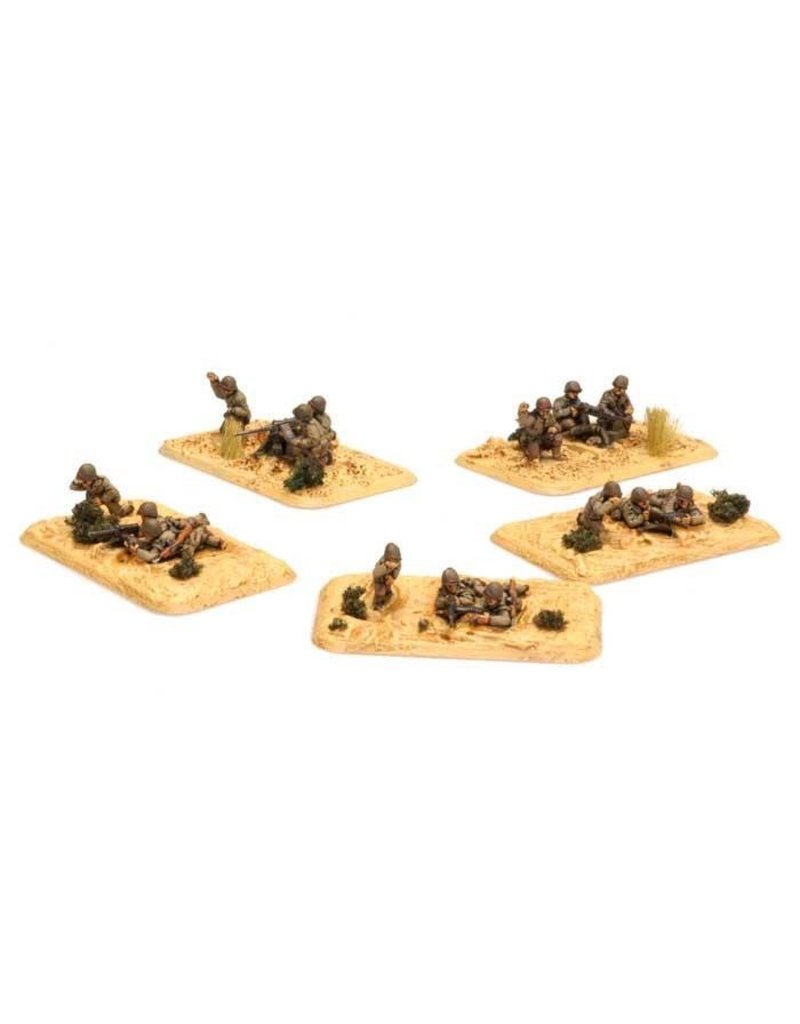 Flames of War US718 Armored Rifle Platoon Dismounted MGs