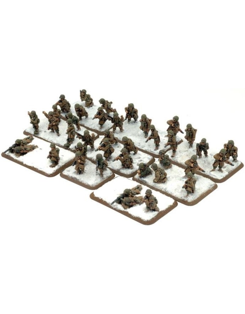 Flames of War US728 Airborne Engineer Platoon (Winter)