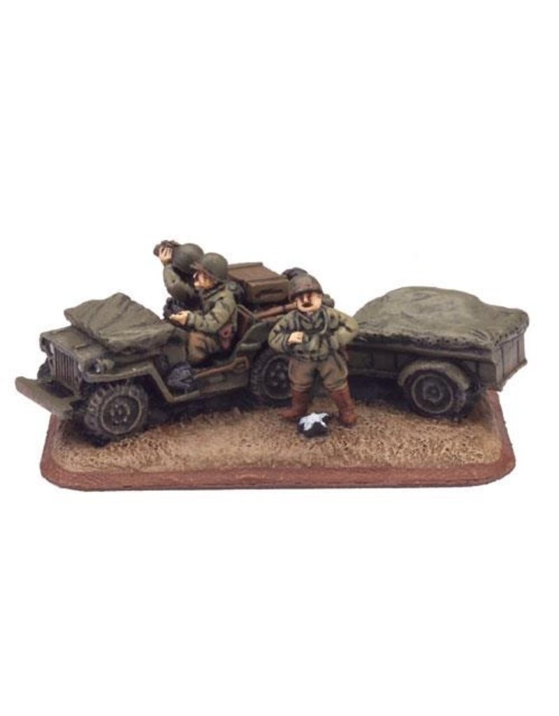 Flames of War US880 Major General Ernest N Harmon