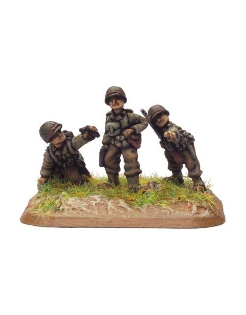 Flames of War US883 Colonel William O Darby & Ranger Platoon