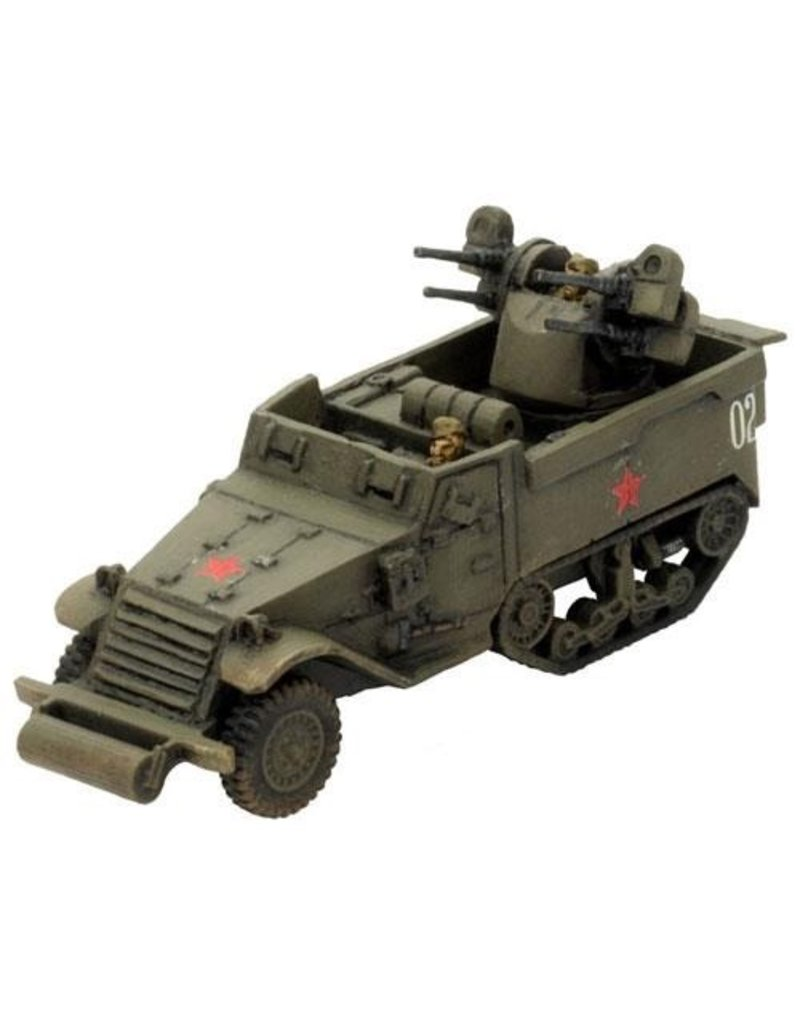 Flames of War SU160 ZSU M17 MGMC