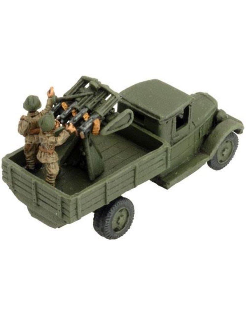 Flames of War SU161 Quad Maksim AA MG
