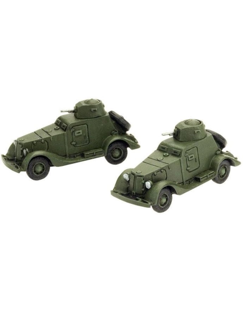 Flames of War SU303 BA-20 Armoured Car