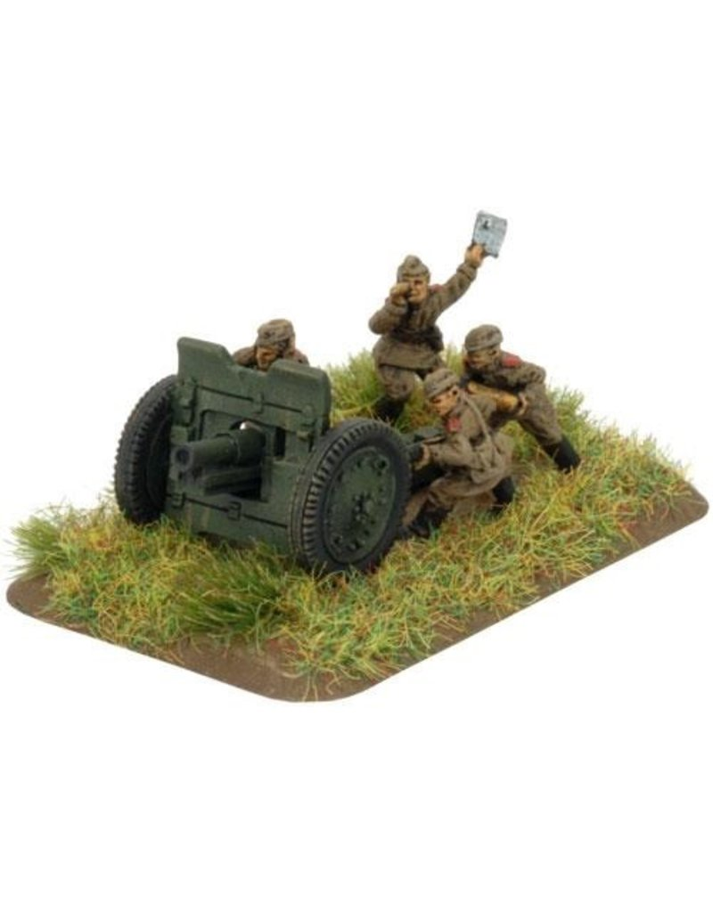 Flames of War SU561 76mm obr 1927 gun (x2) (late)