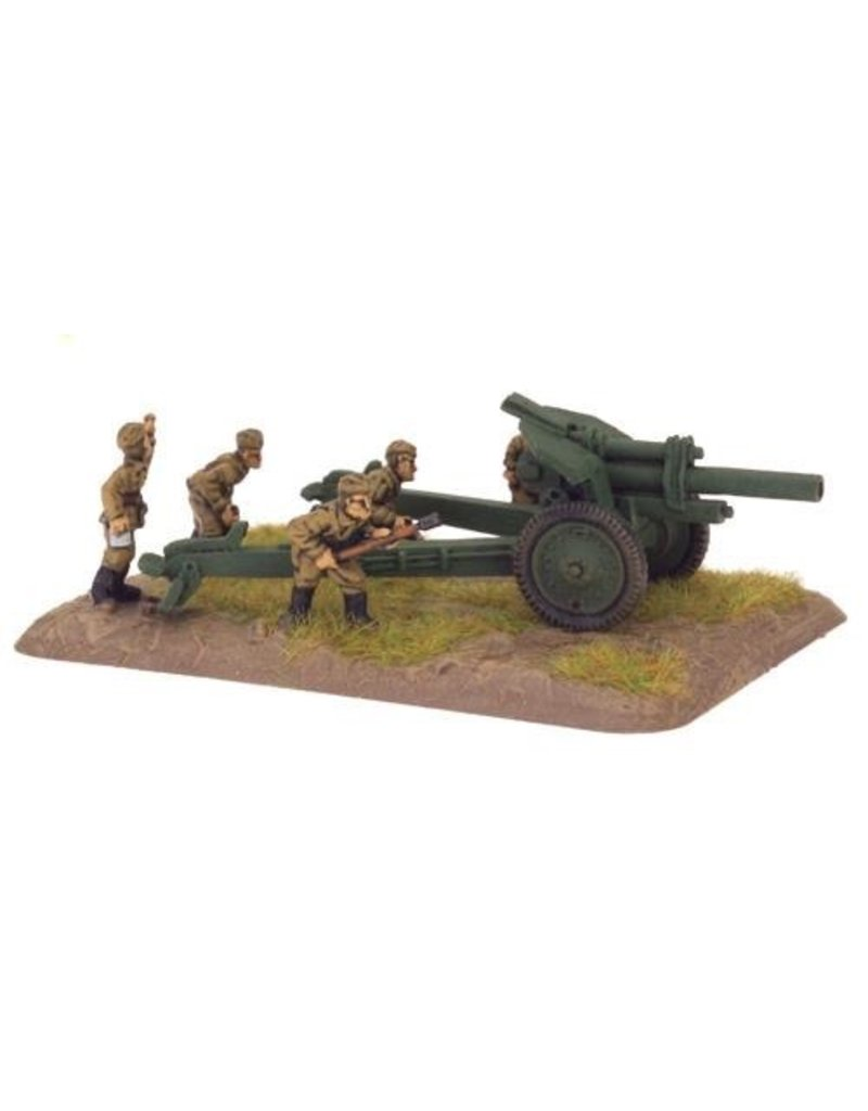 Flames of War SU576 122mm obr 1938 howitzer (x2)