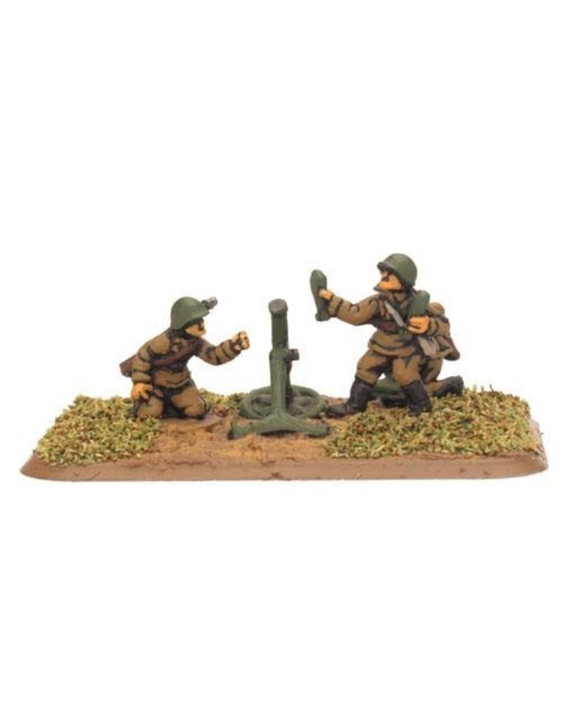 Flames of War SU705 Mortar Company