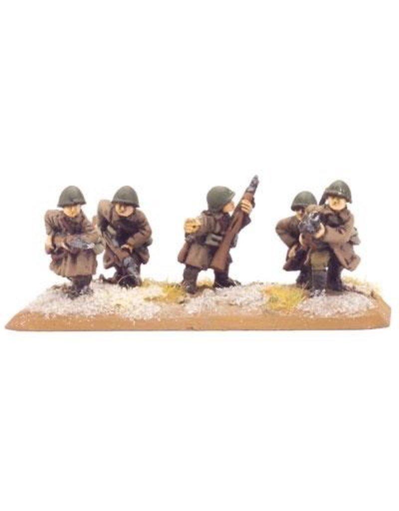Flames of War SU720 Strelkovy Platoon (Winter)