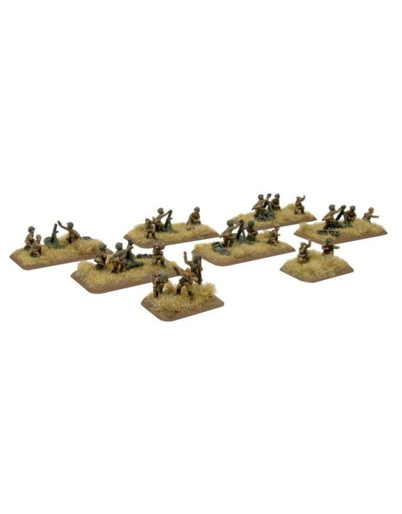 Flames of War SU735 Mortar Company (late)