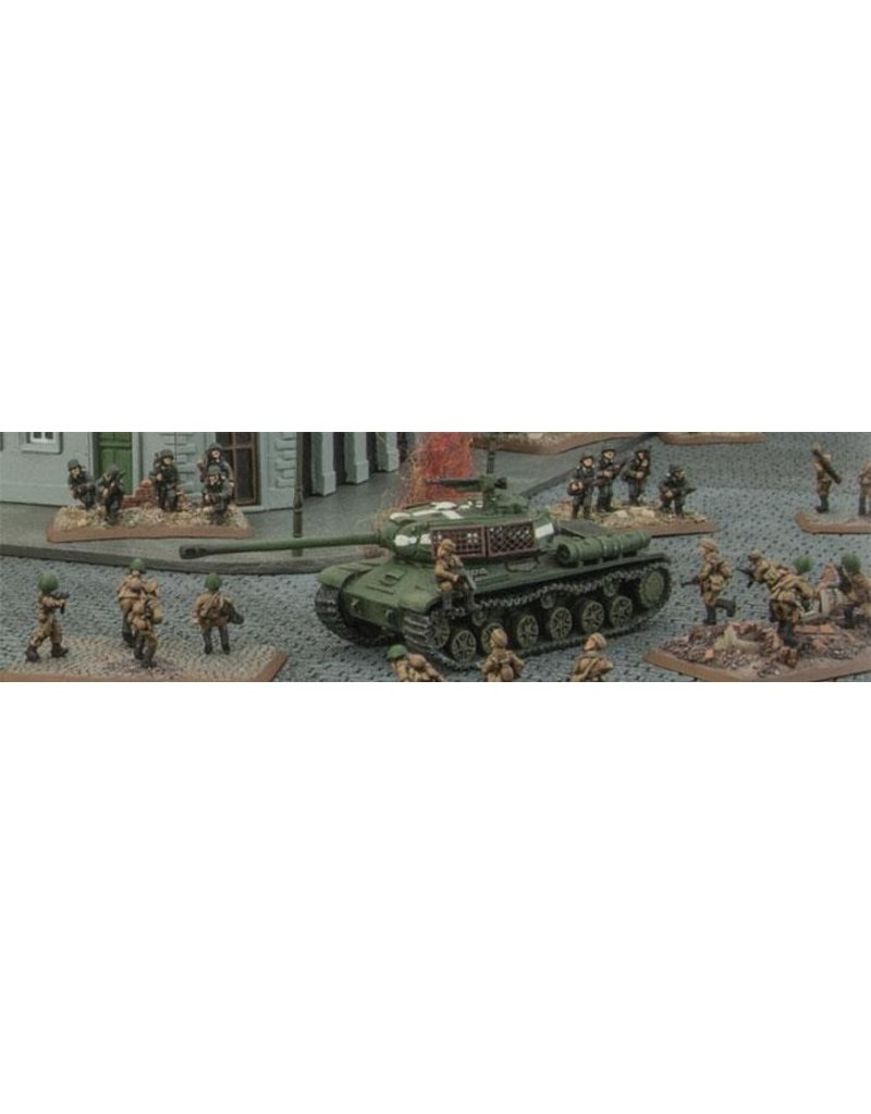 Flames of War SU960 Bed Spring Armour (Plastic)