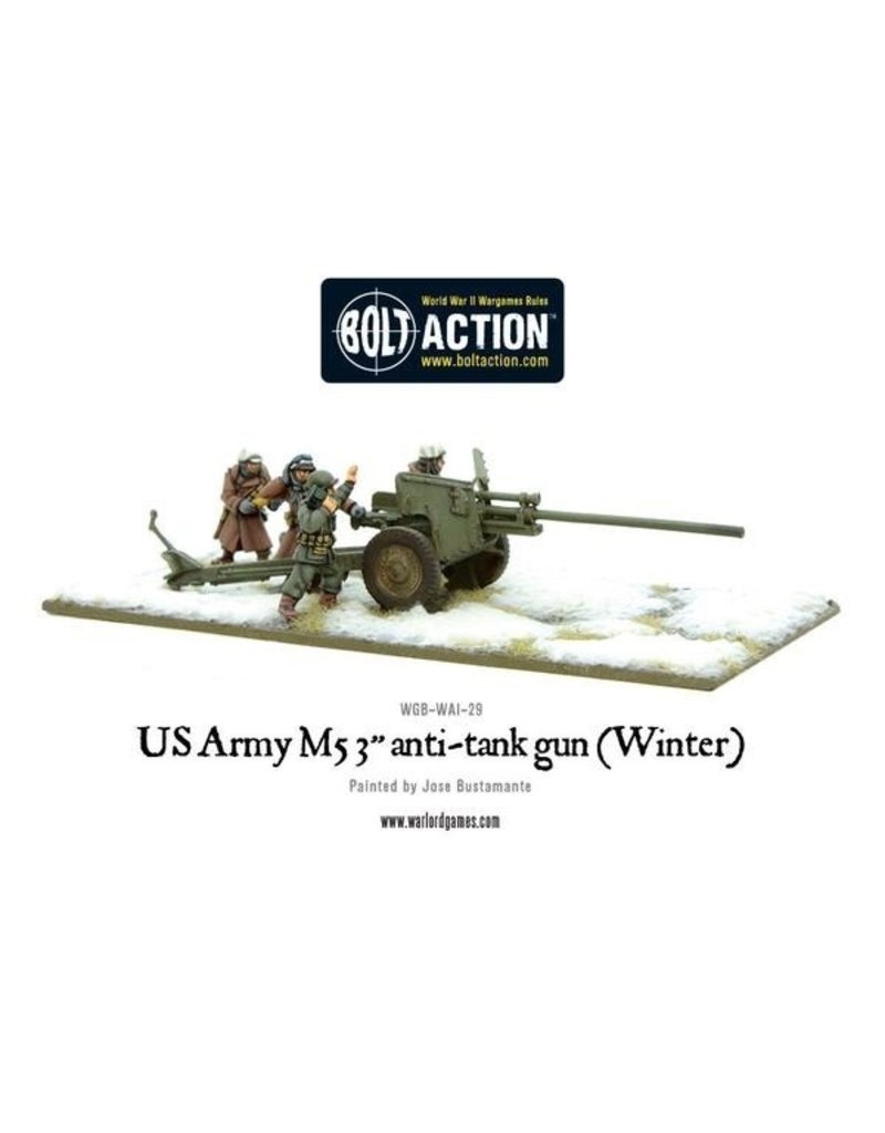 Bolt Action BA American Army: 3-Inch Anti-Tank Gun M5 (Winter)