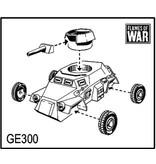 Flames of War GE300 German SdKfz 221 (MG)