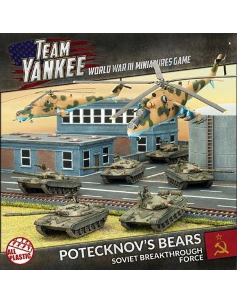 Team Yankee TSUAB1 Potecknov's Bears (Plastic Army Deal)