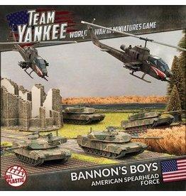 Team Yankee TUSAB1 Bannon's Boys (Plastic Army Deal)