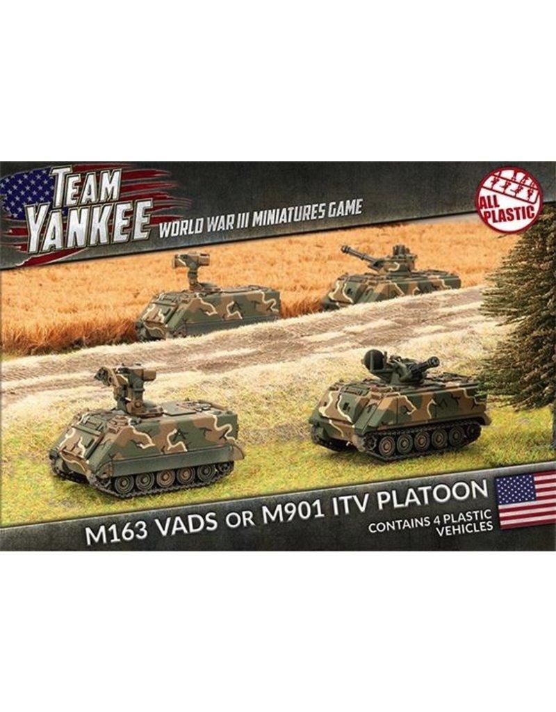 Team Yankee TUBX02 M163 VADS or M901 ITV Platoon (Plastic)