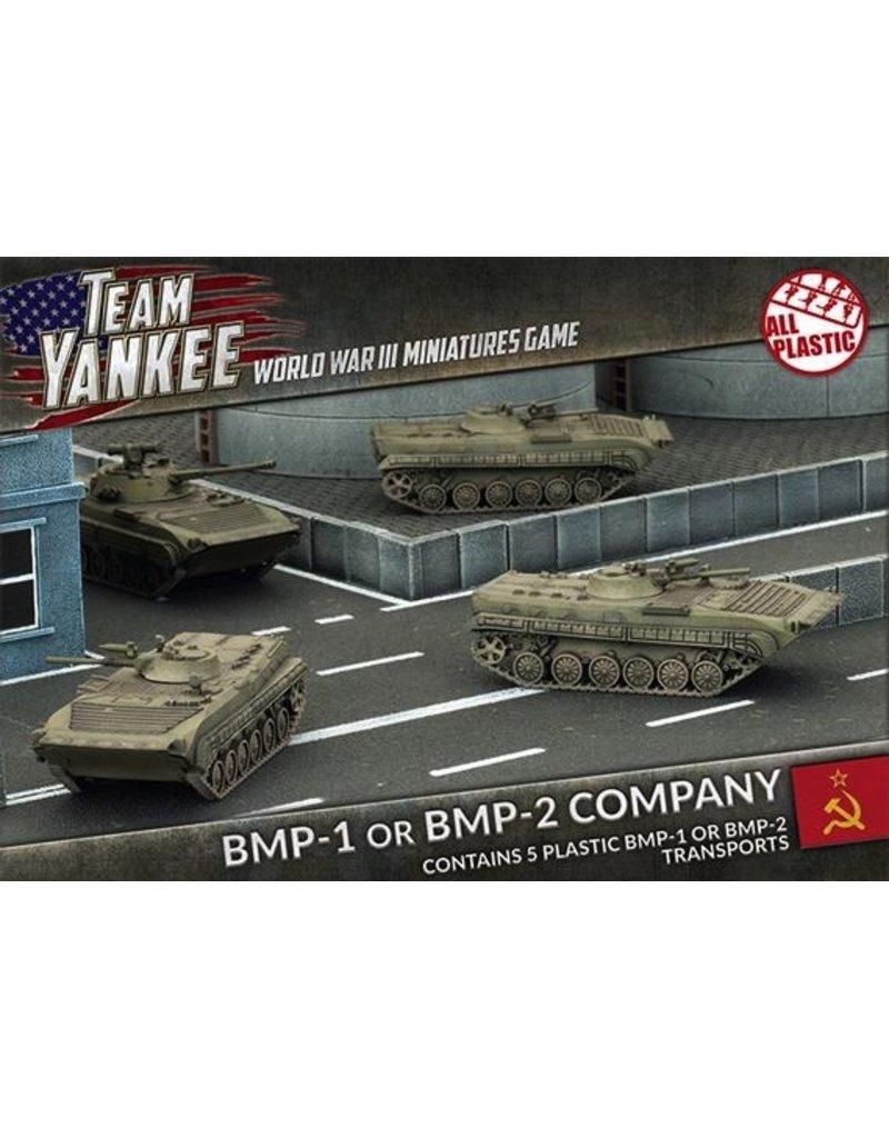 Team Yankee TSBX02 BMP-1 or BMP-2 Company (Plastic)