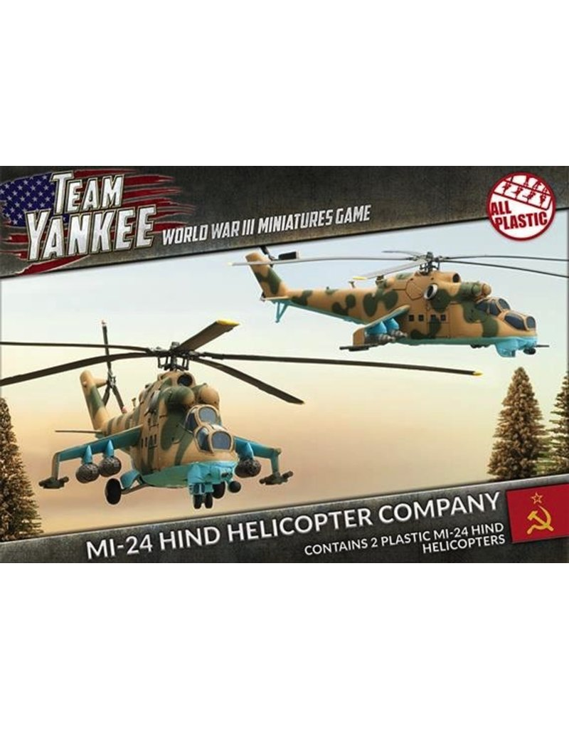 Team Yankee TSBX04 Mi-24 Hind Helicopter Company