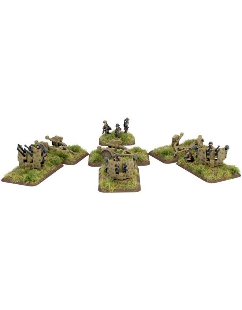 Flames of War GE537 German FJ 2cm Quad FlaK Gun