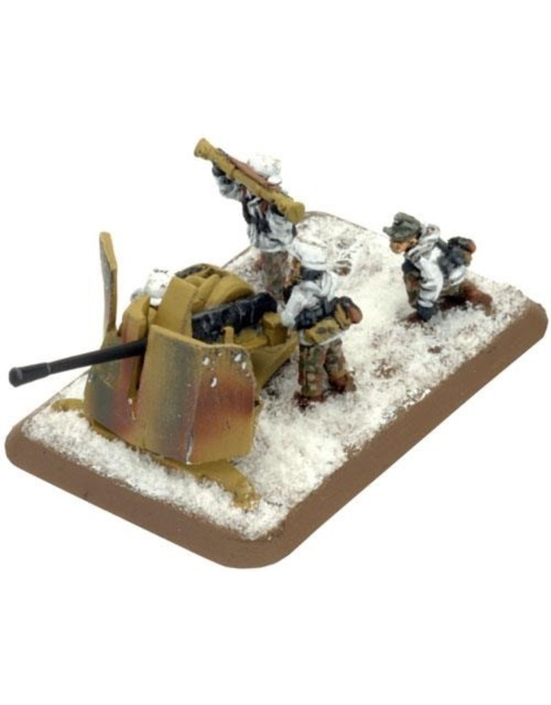 Flames of War GE549 3.7cm FlaK Platoon Winter