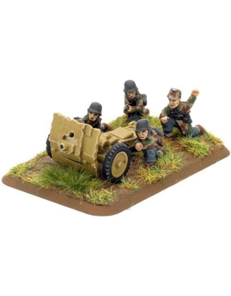 Flames of War GE558 German HG 7.5cm leIG18 gun