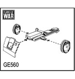 Flames of War GE560 German 7.5cm leIG18 gun