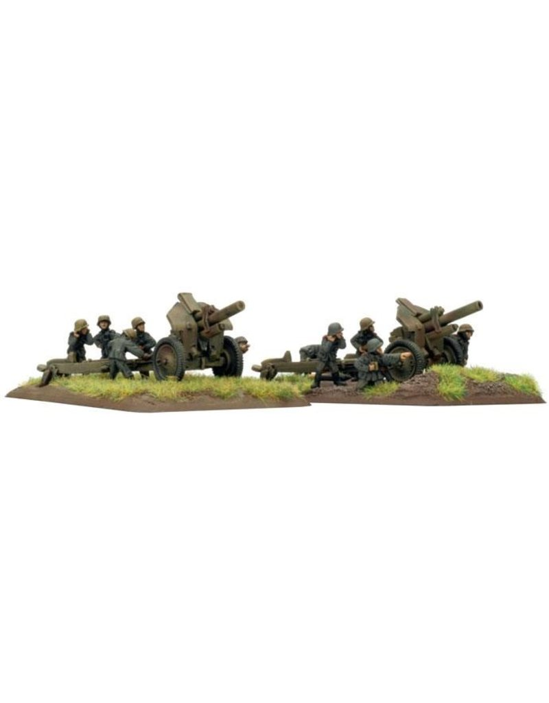 Flames of War GE573 German 12.2cm FH396(r)