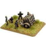 Flames of War GE595 German 30cm NW42 Rocket Launcher w crew