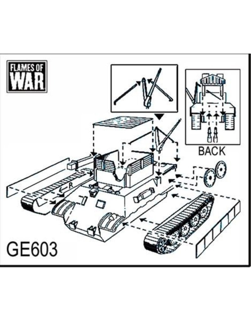 Flames of War GE603 German Bergepanther Recovery