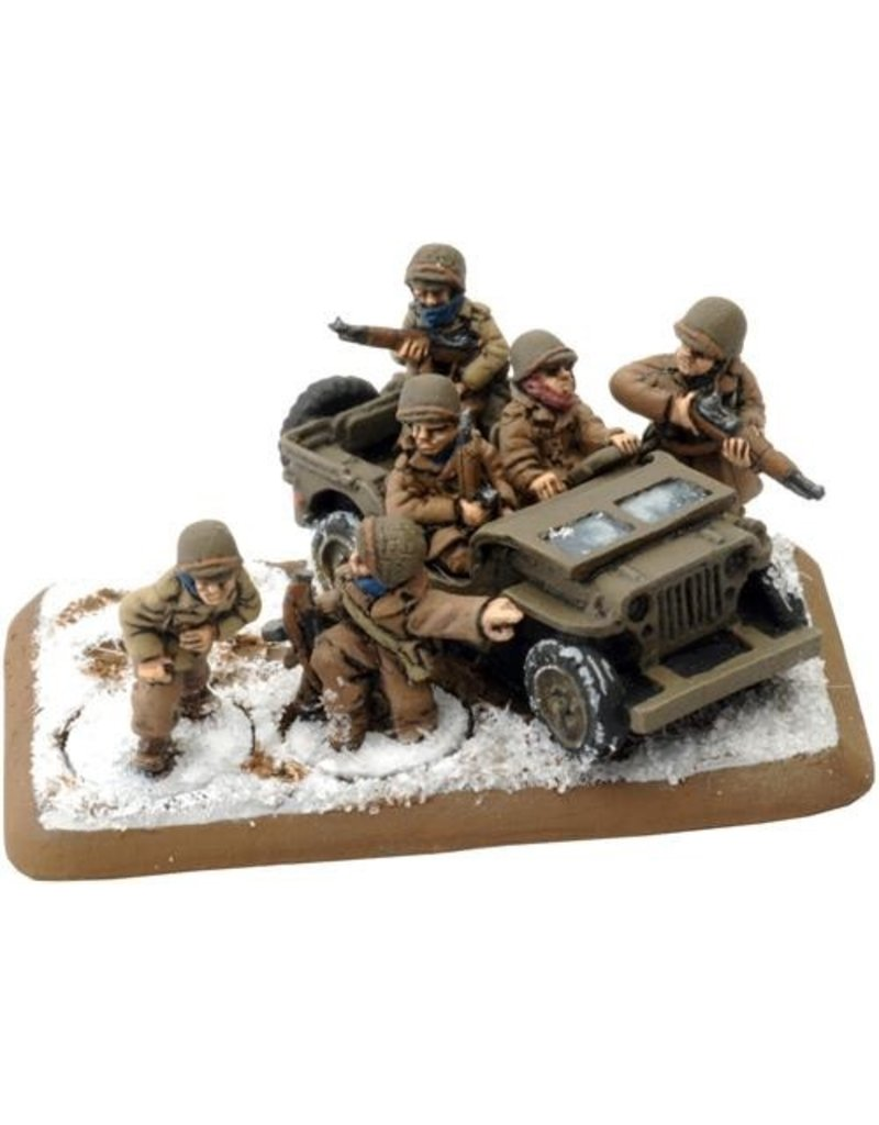 Flames of War GE660 German Skorzeny Commando Group