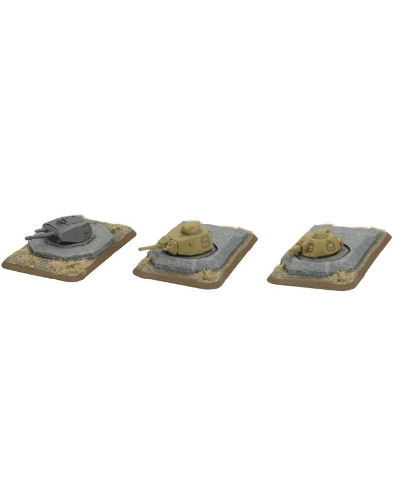 Flames of War GE681 Turret Bunkers