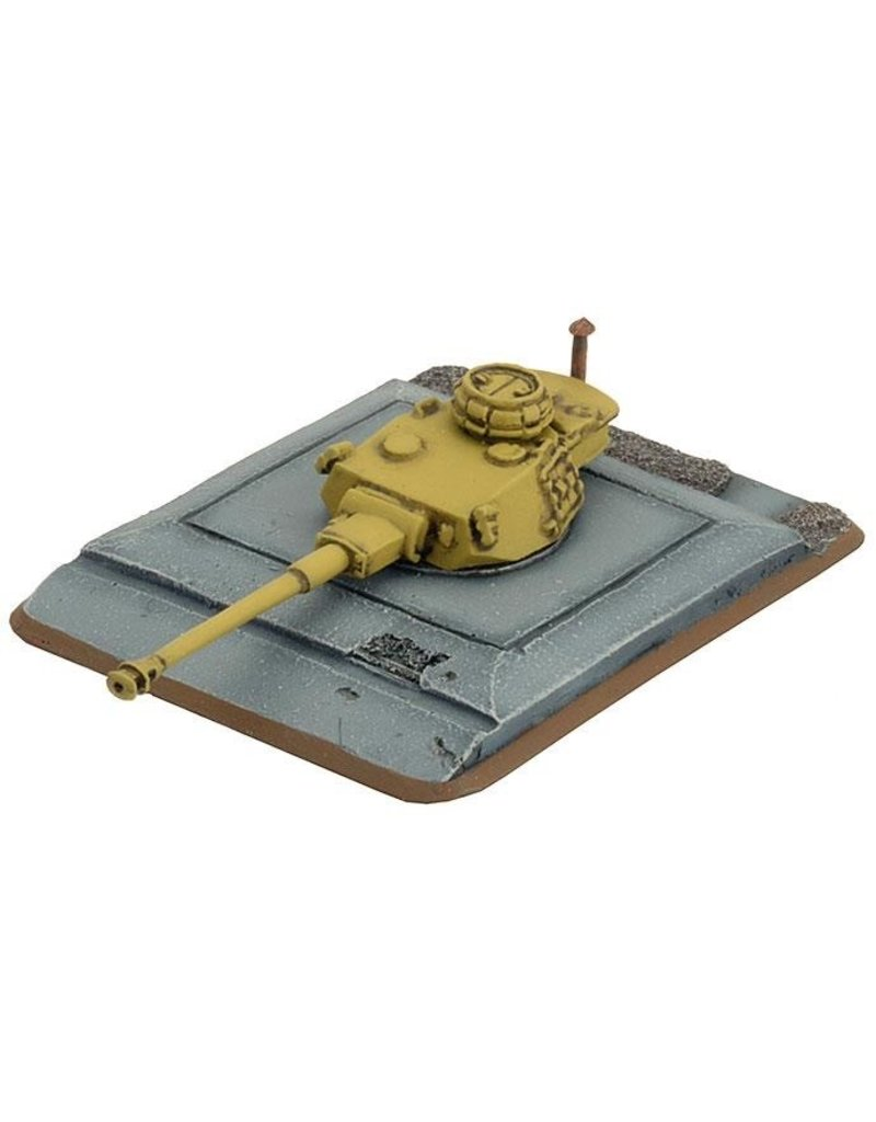 Flames of War GE684 Panzer IV Turret Bunker