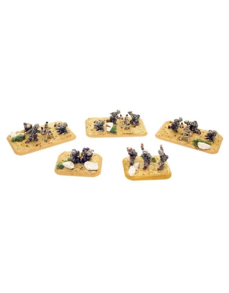 Flames of War GE745 German Mortar Platoon Afrika