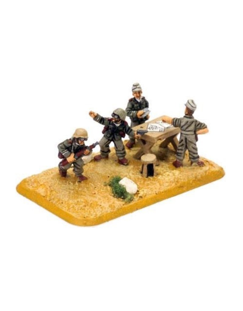 Flames of War GE749 German Artillery HQ Afrika