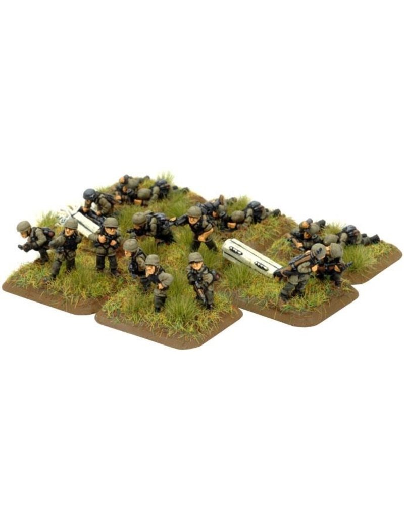 Flames of War GE761 German Company HQ FJ