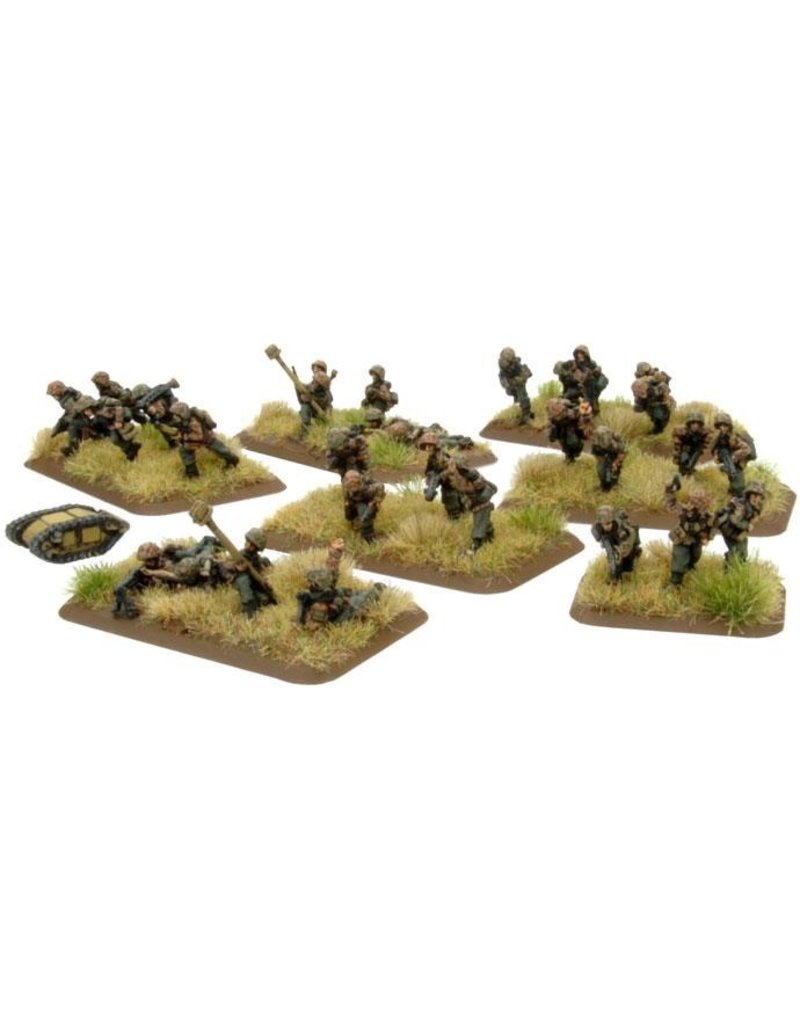Flames of War GE817 German SS Pioneer Platoon
