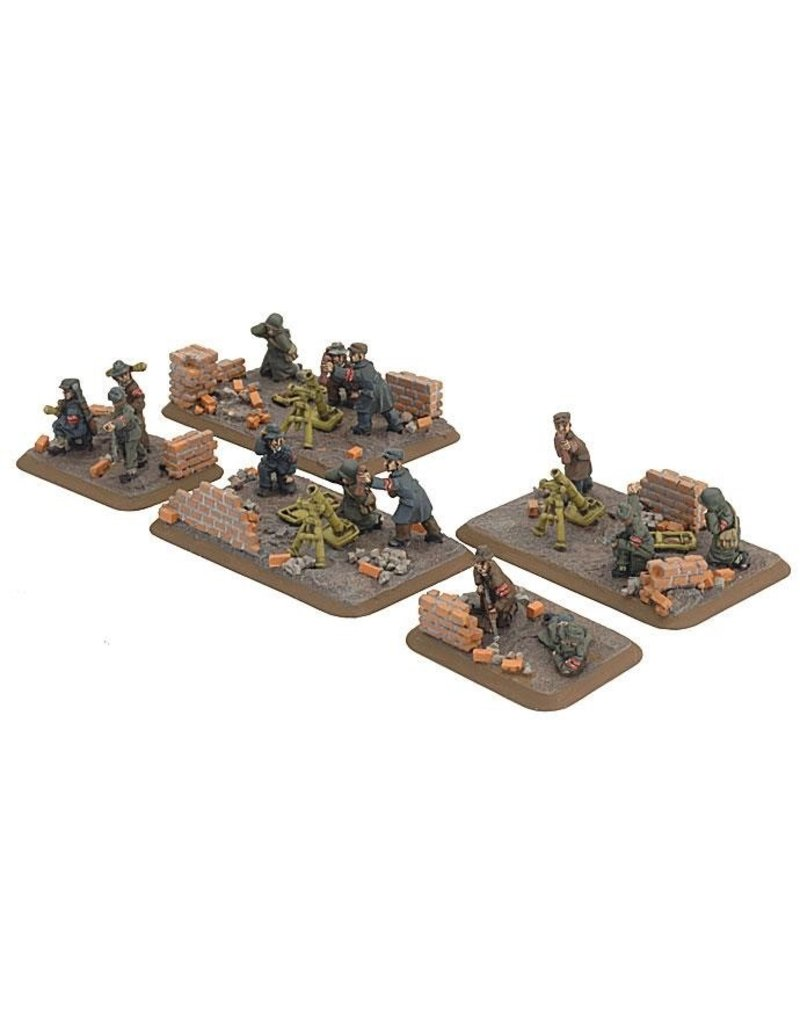 Flames of War GE825 Volkssturm Mortar Platoon
