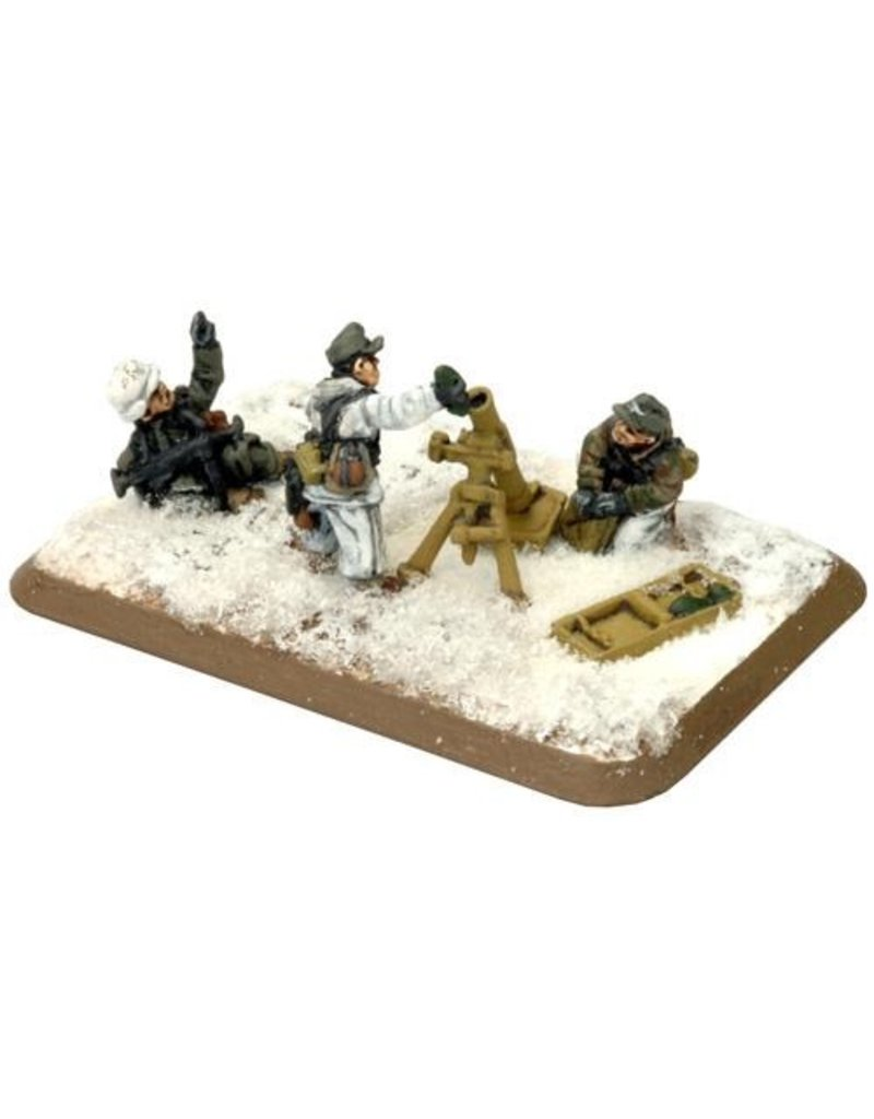 Flames of War GE845 German Mortar Platoon Winter