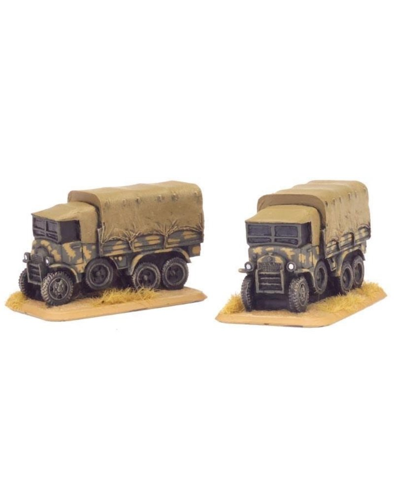 Flames of War IT431 Dovunque 35 3-ton truck (x2)