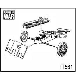 Flames of War IT561 65/17 gun (x2)