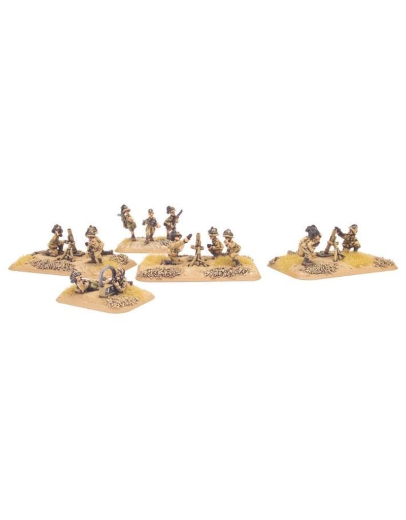 Flames of War IT725 Italian Bersaglieri Mortar Plt