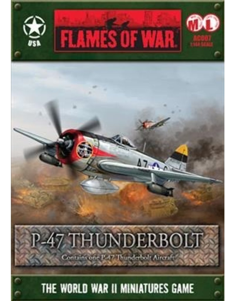 Flames of War AC007 P-47 Thunderbolt (1:144)