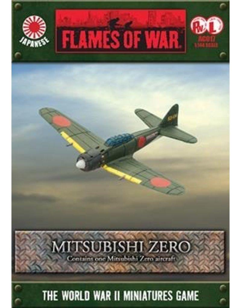 Flames of War AC017 Mitsubishi Zero