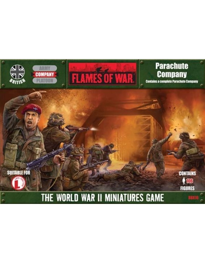 Flames of War BBX16 British Parachute Company