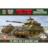 Flames of War BBX27 Sherman Armoured Platoon (Plastic)