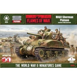 Flames of War UBX02 M4A1 Sherman Platoon