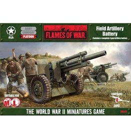 Flames of War UBX07 Field Artillery Battery
