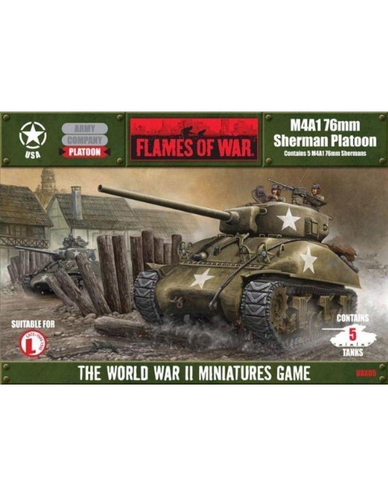 Flames of War UBX05 M4A1 (76) Platoon